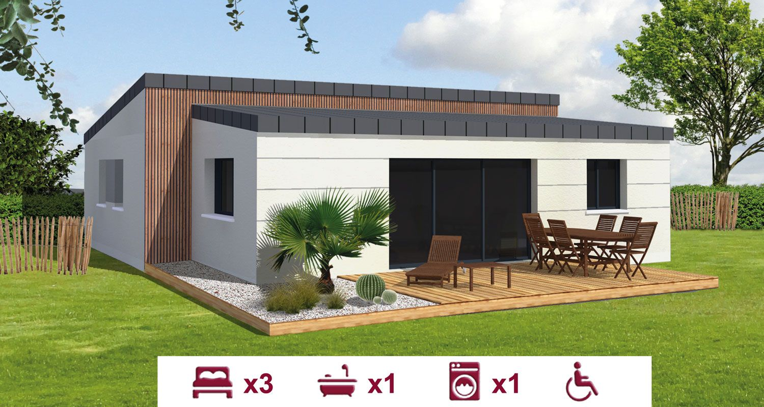 constructeur maison plain pied be home