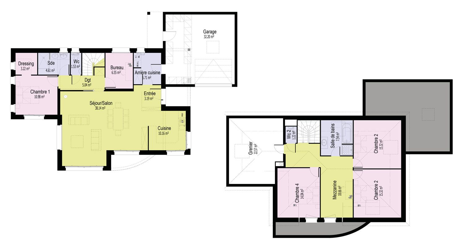 plan-maison-contemporaine-bretagne